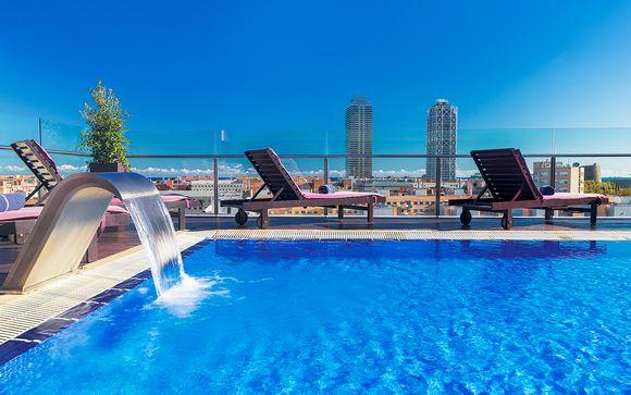 Cocooning tendance et rooftop - Barcelone -
