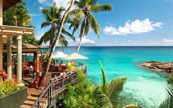 Coin de paradis face à l'océan Indien en classe affaires