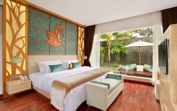 Poussez les portes de l'hôtel The Leaf Jimbaran 5*