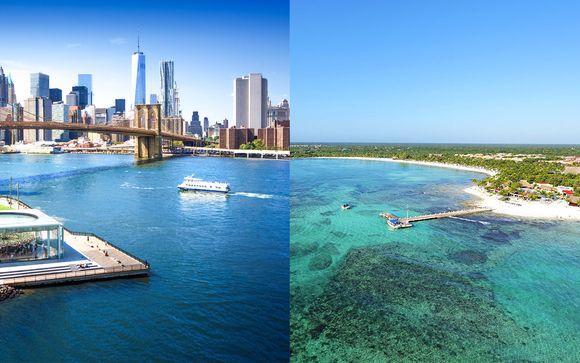 Entre adresse chic à Manhattan et plages aux Caraïbes