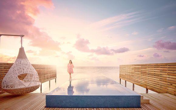 Collection Luxe : lagon turquoise et sérénité au paradis...