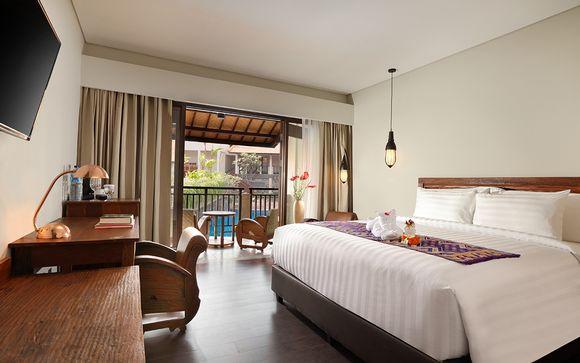 Poussez les portes de l'hôtel Best Western Agung Resort 4* à Ubud