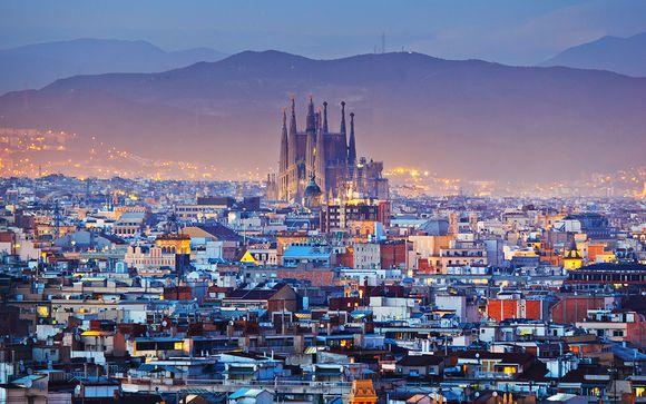 Design entre le parc Güell et la Sagrada Familia
