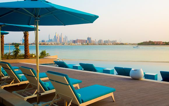 Escale bien-être face à la Palm Jumeirah