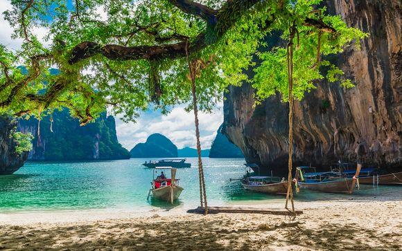 Paradis insulaire en mer d'Andaman