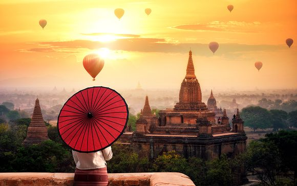 Circuit en groupe au Myanmar