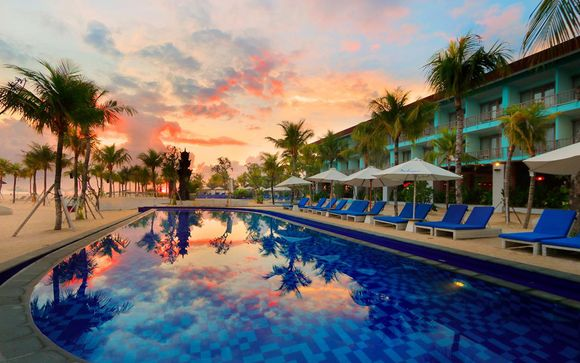 The Mansion Baliwood 5*, Mahagiri Resort 4* et Mövenpick 5*