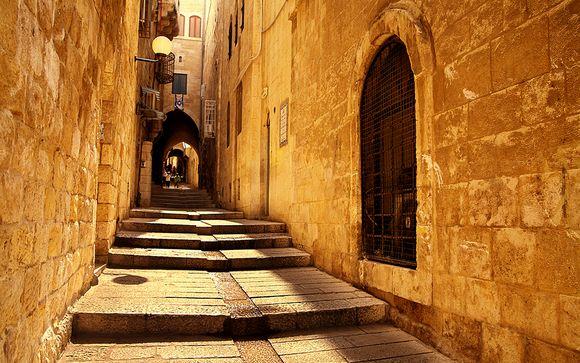 Zoom sur votre extension à Jérusalem et à Amman