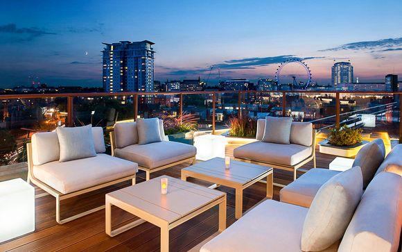 Sky Bar et Spa au cœur de la capitale