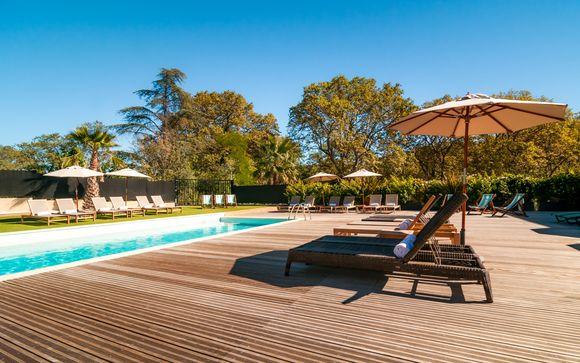 Douce relaxation dans l'Hérault
