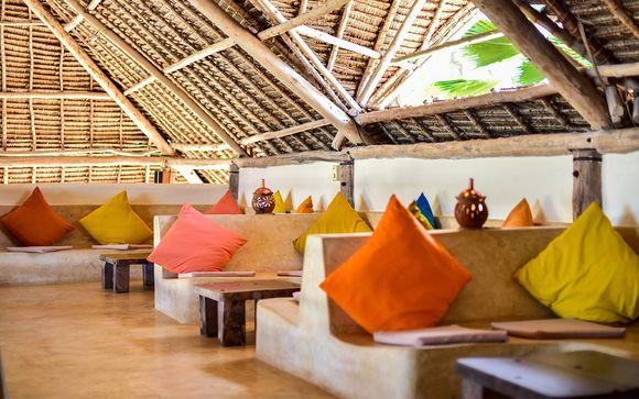 Poussez les portes de l'hôtel Sunshine à Matemwe