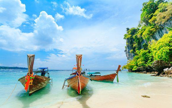 Trio exotique : entre ville, île et plage