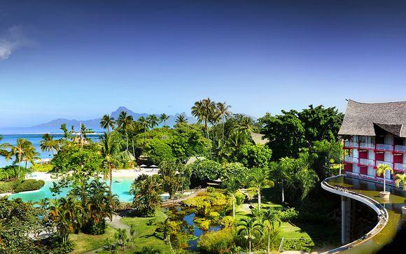 Poussez les portes de l'hôtel Sofitel Tahiti Ia Ora Beach Resort 4*