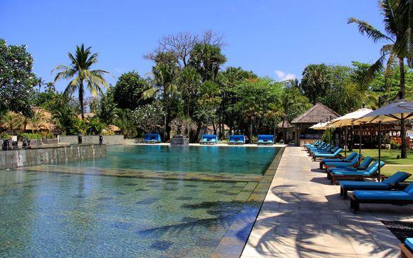 Poussez les portes de l'hôtel Belmond Jimbaran Puri 5*