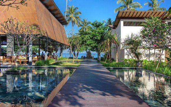 Poussez les portes de l'hôtel Katamaran Resort 5* (ou similaire) à Senggigi