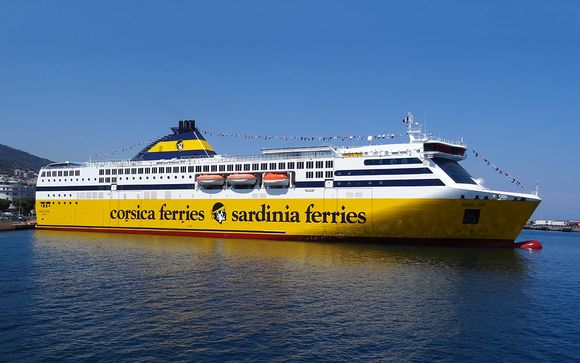 Voyagez avec Corsica Ferries