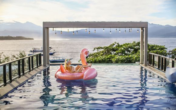 Poussez les portes de l'hôtel  Marc Hotel Gili Trawangan sur les îles Gili
