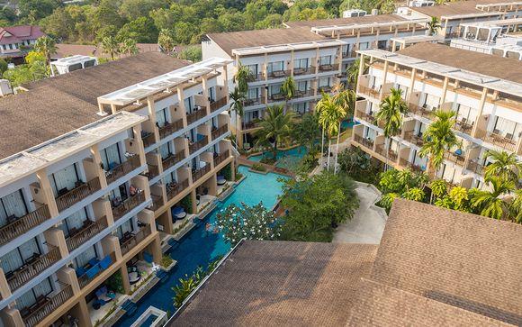 Poussez les portes de l'hôtel Deevana Plaza Krabi 4*