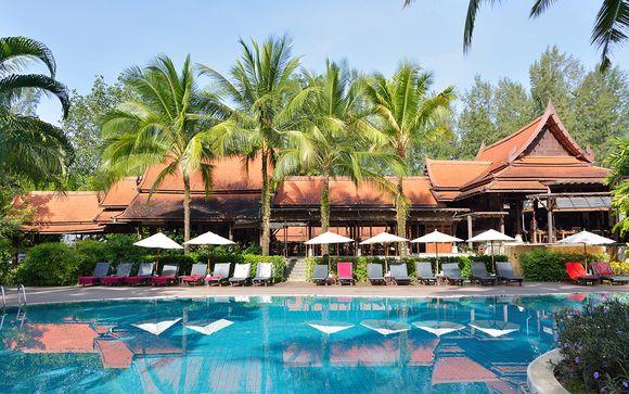 Hôtel Khao Lak Bhandari 4* avec pré-extension possible à Bangkok