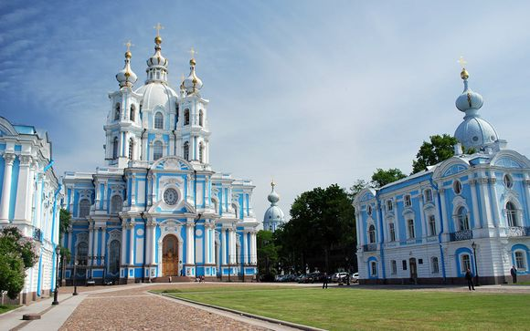 Votre Croisière de St-Pétersbourg à Moscou