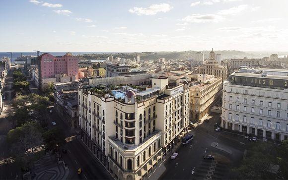 Poussez les portes de l'hôtel Iberostar Parque Central 5* à La Havane