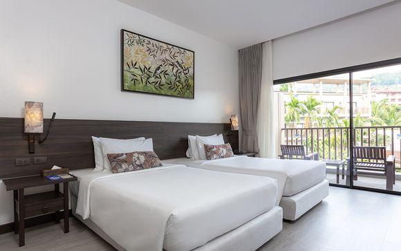 Poussez les portes de l'hôtel Deevana Plaza Krabi Aonang 4* à Krabi