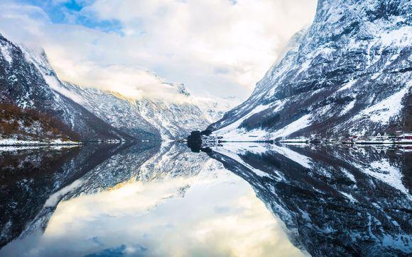 7 ou 8 jours à travers les fjords enneigés