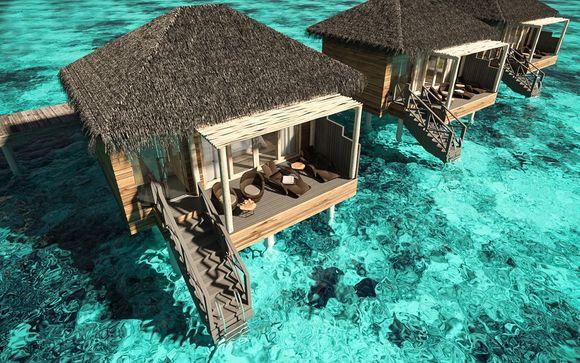 Poussez les portes de votre hôtel 5 étoiles Luxe aux Maldives