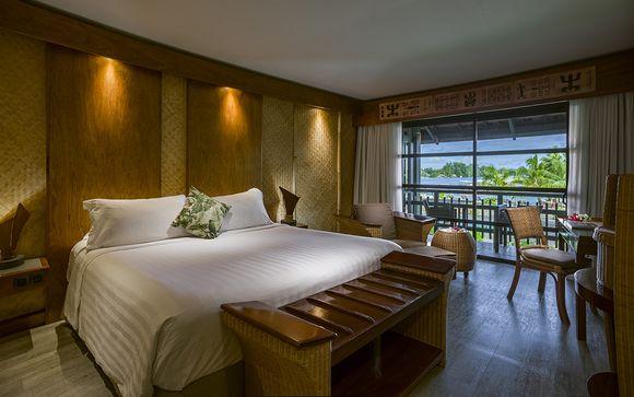 Poussez les portes de l'hôtel  Intercontinental Moorea 4*