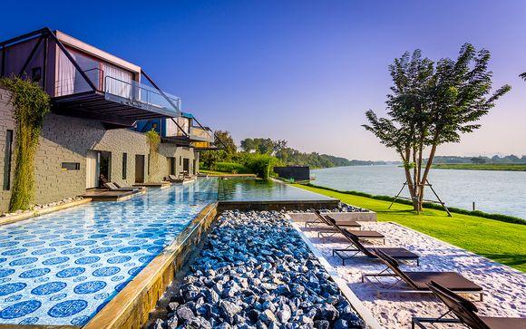 Combiné Well Hôtel Bangkok 5* et X2 River Kwai Resort 4* avec Oman Air