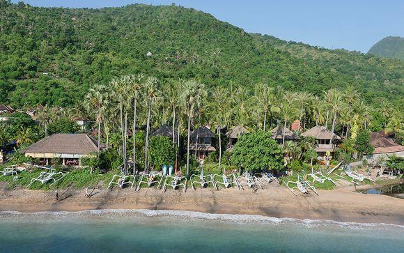 Poussez les portes de l'hôtel Coral View Villas à Amed