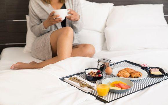 Dégustez votre petit-déjeuner...