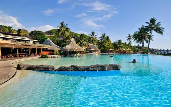 Poussez les portes de l'hôtel Intercontinental Resort 4* à Tahiti