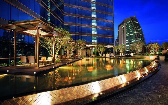 Poussez les portes de l'hôtel Grand Center Point Terminal 21 5* à Bangkok