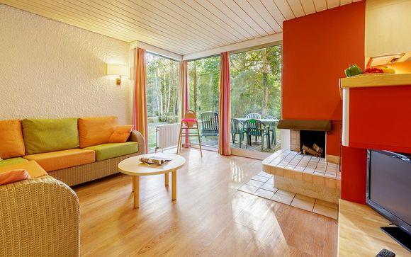 Center Parcs Domaine des Bois Francs - Cottage Comfort