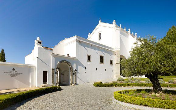 Poussez les portes de l'hôtel Hôtel Convento Do Espinheiro 5* à Evora