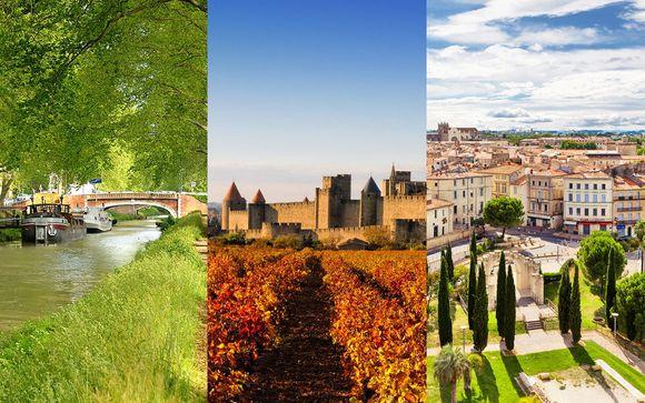 Hilton Carcassonne, Pullman Centre et Courtyard by Marriott en 4* et 5*