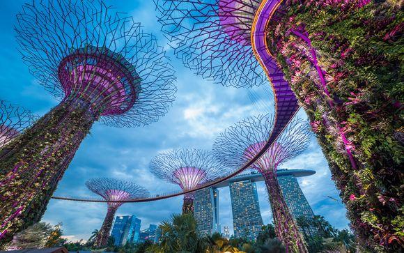 Votre pré-extension à Singapour