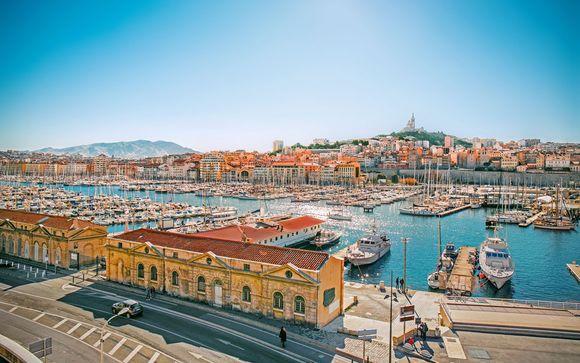 Hôtel mystère 4* à Marseille