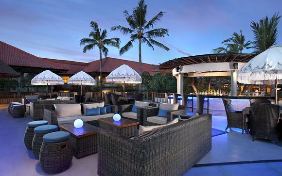 Poussez les portes de l'hôtel Bali Dynasty Resort à Kuta