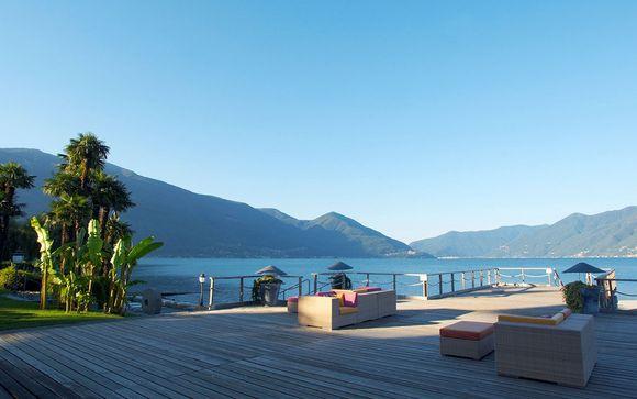 Poussez les portes de votre hôtel Eden Roc Ascona 5*