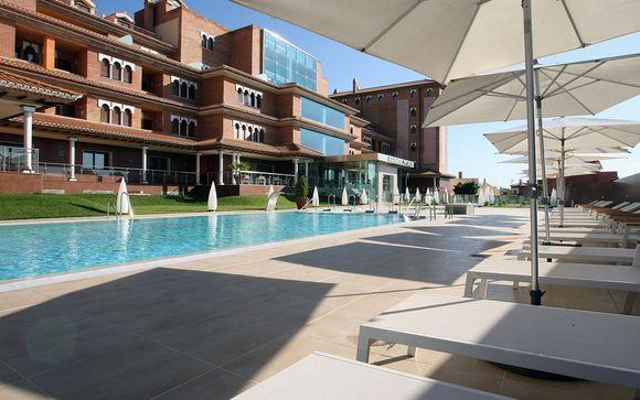 Poussez les portes de l'hôtel Granada Palace 4*