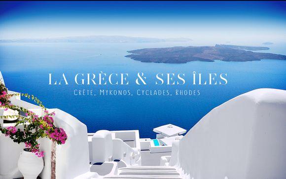 Plongez au cœur de la Grèce et de ses îles…