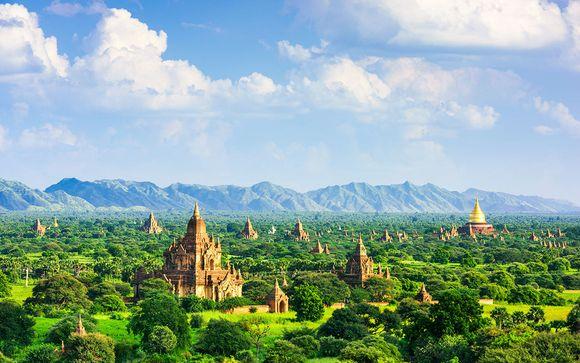 Immersion avec chauffeur en Terre Birmane