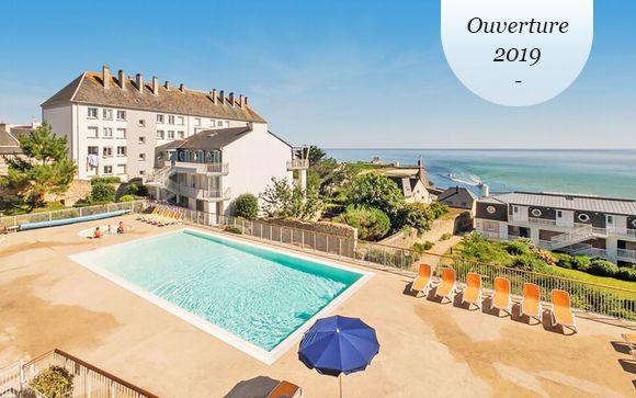 Vacances bretonnes les pieds dans l'eau