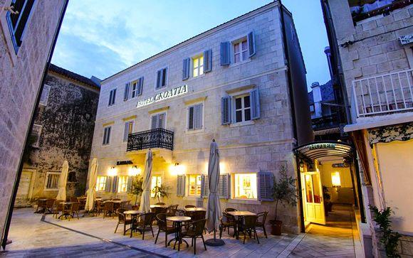 Poussez les portes de l'Hôtel Croatia 4*
