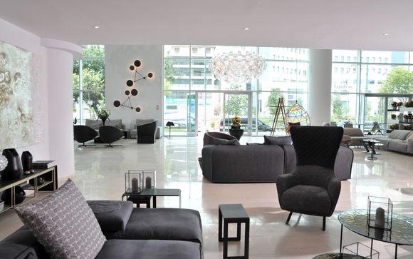 Poussez les portes de l'hôtel Athenaeum Palace & Luxury Suites 4* à Athènes (Dans l'offre 2)