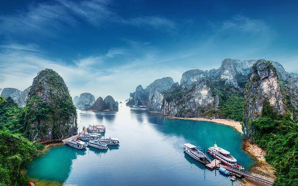 Circuit privatif Beauté du Vietnam et extension possible