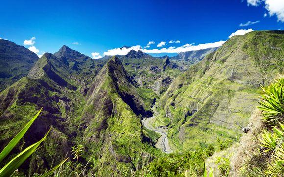 Autotour à la Réunion et séjour possible à Nosy Be