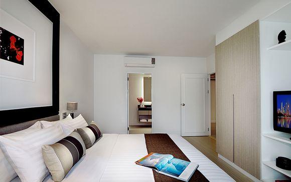 Poussez les portes de l'hôtel Somerset Park 4*